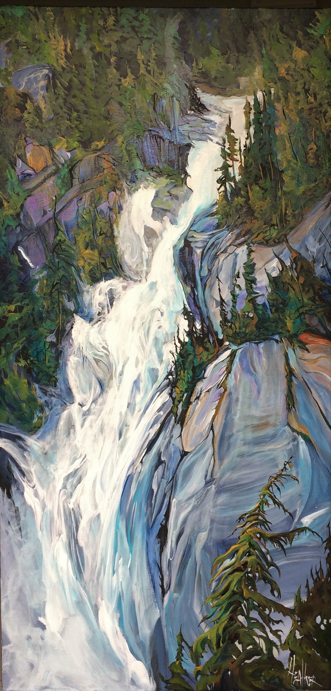 Shannon Falls Feeling Squamish SOLD
