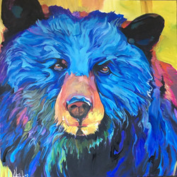 Benny The Bear 36 x 36 SOLD