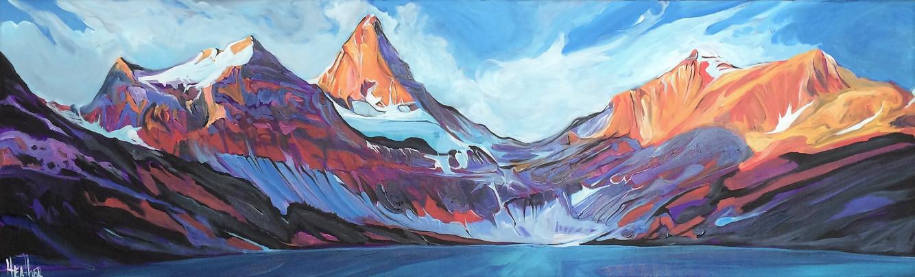 Mt. Assiniboine Velocity 18 x 60 $2800