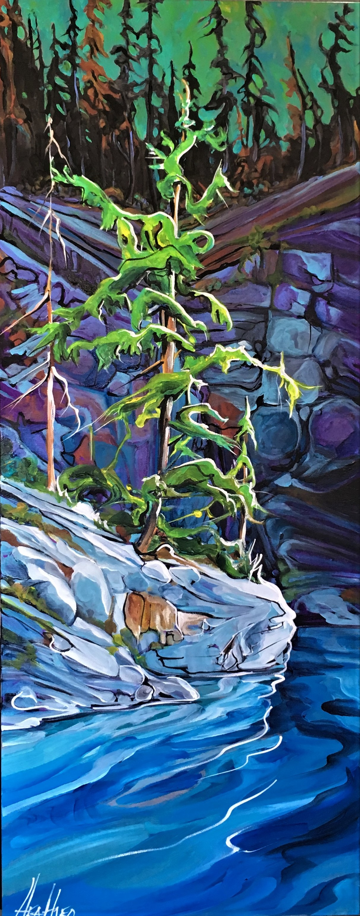 Secret Cove 16 x 40 SOLD