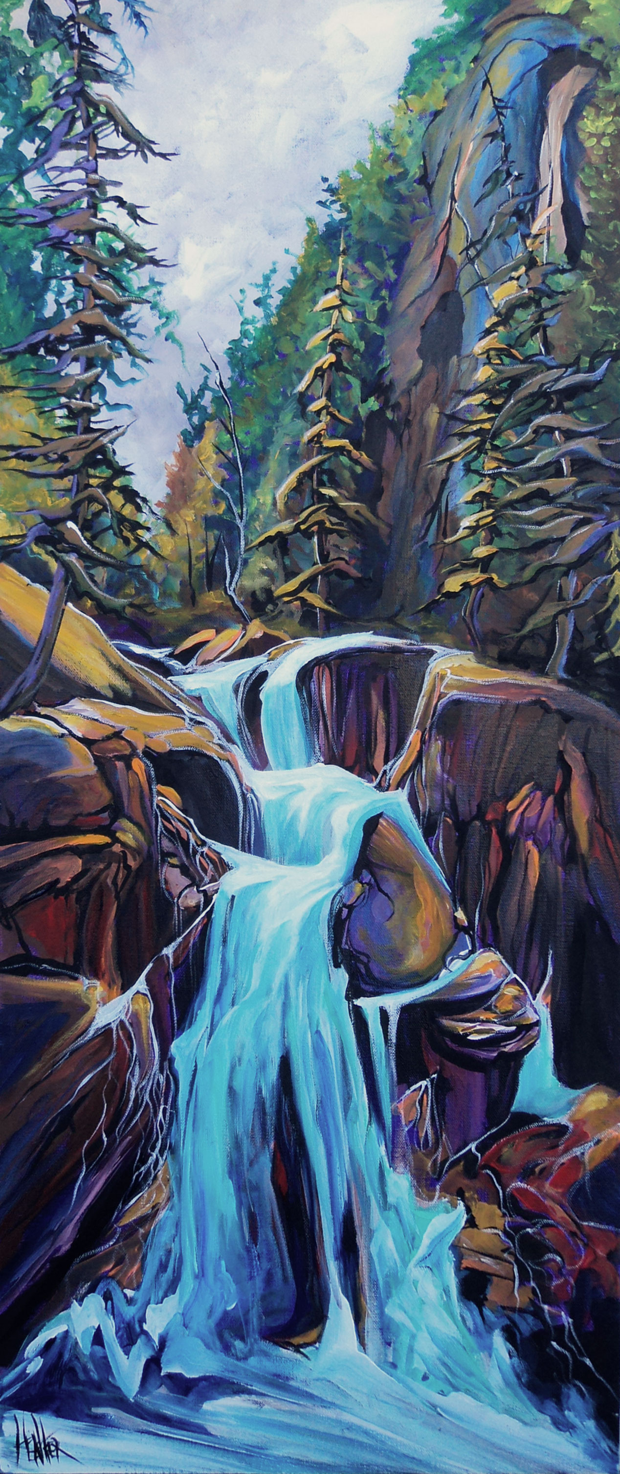 Top of the Creek 16 x 40 SOLD