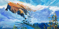Morning Glory 24 x 48 Sold