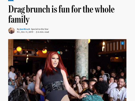 Toronto Star / Drag brunch is fun for the whole family