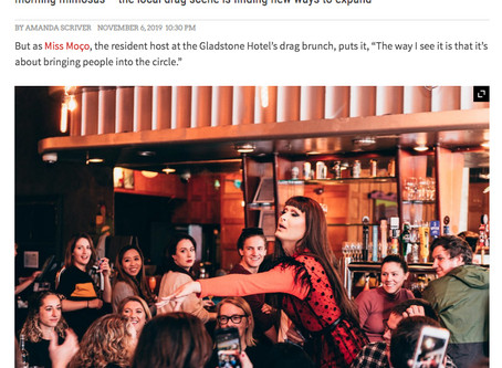 NOW Magazine / At Toronto's drag brunches, a queer art form finds a new audience