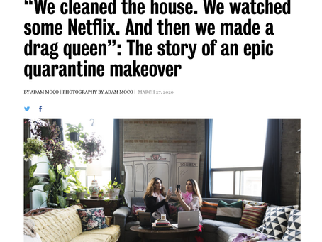 Toronto Life / The story of an epic quarantine makeover