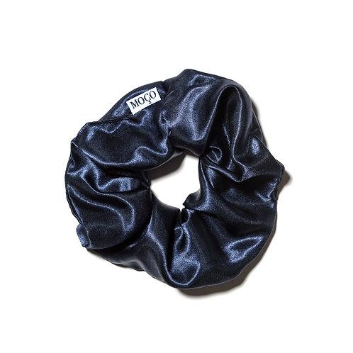 Navy Luxe Scrunchie