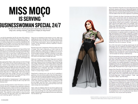 IN Magazine / Miss Moço Is Serving Business Woman Special 24/7