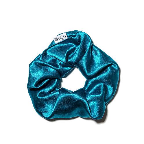 Aqua Luxe Scrunchie