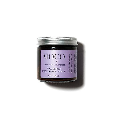 Lavender + Lemongrass Face Scrub