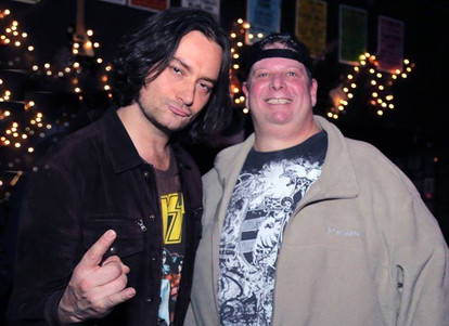 Getting ready to rock with Idol's Constantine Maroulis
