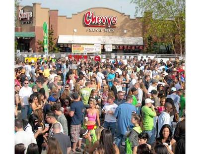 Chevy's Clifton Cinco De Mayo Party!