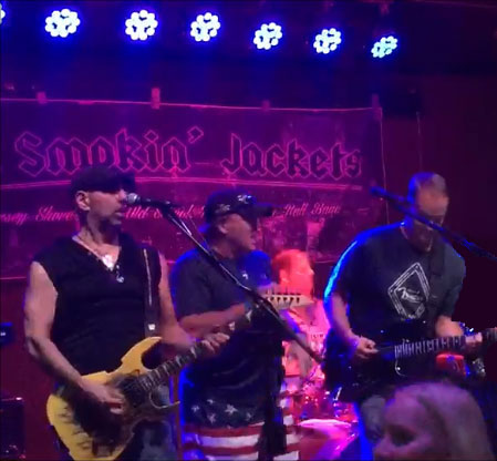 The Smokin' Jackets band