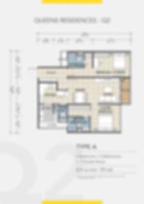 Queens Waterfront | Queens Residences - Floor Plan