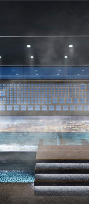 Sky Thermal Bath
