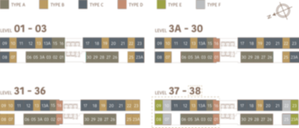 Unit Layout / Floor Plan of Mossaz