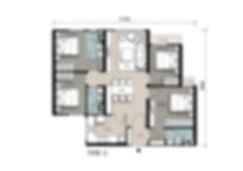 Utropolis, Batu Kawan | Sinaran Residenes Floor Plan