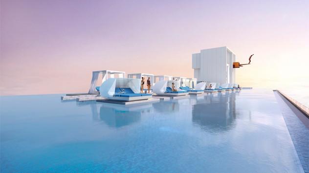360 Degree Santorini Sky Pool