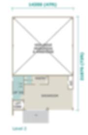 Unit Layout / Floor Plan of Golden Gateway @ Batu Kawan, Penang