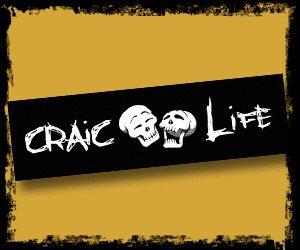 """Craic Life"" Bumper Sticker"