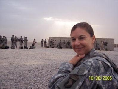 Donalisa in Iraq