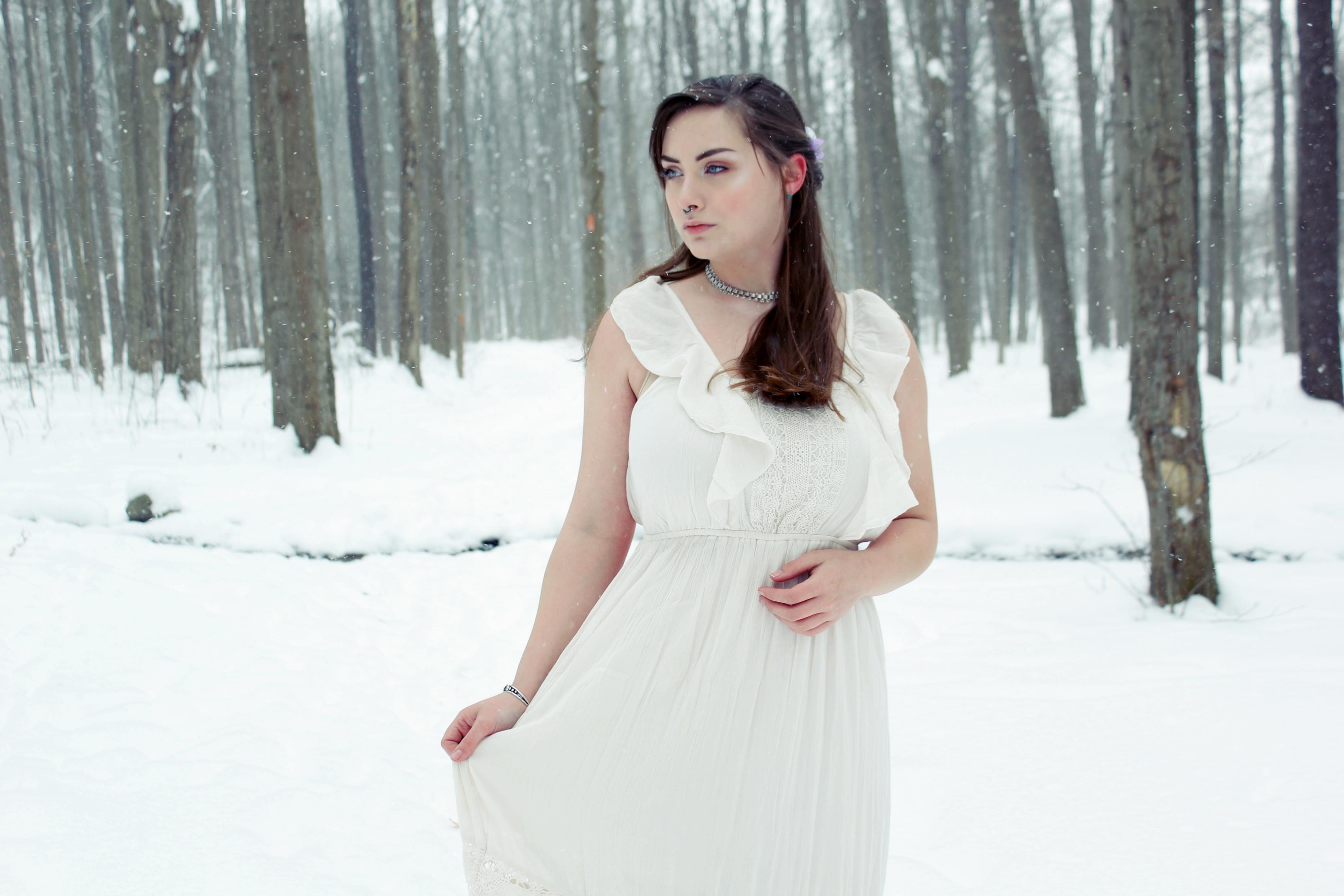 Jen in Snow 2