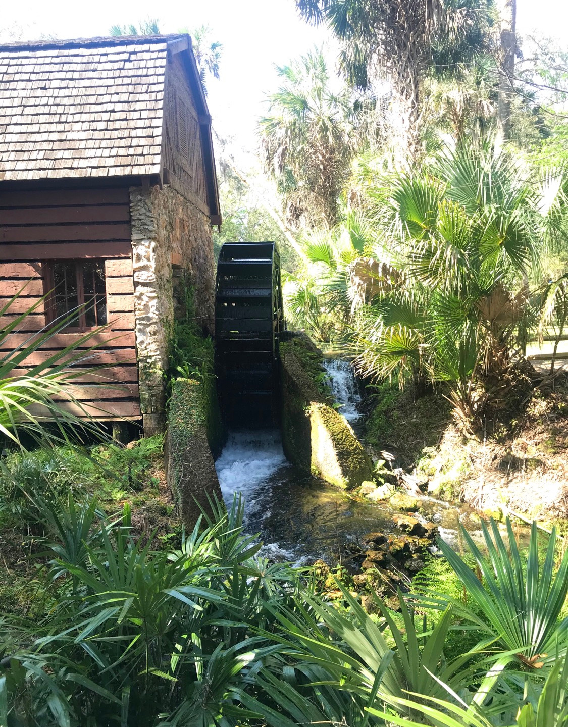 Old grist mill built by the CCC