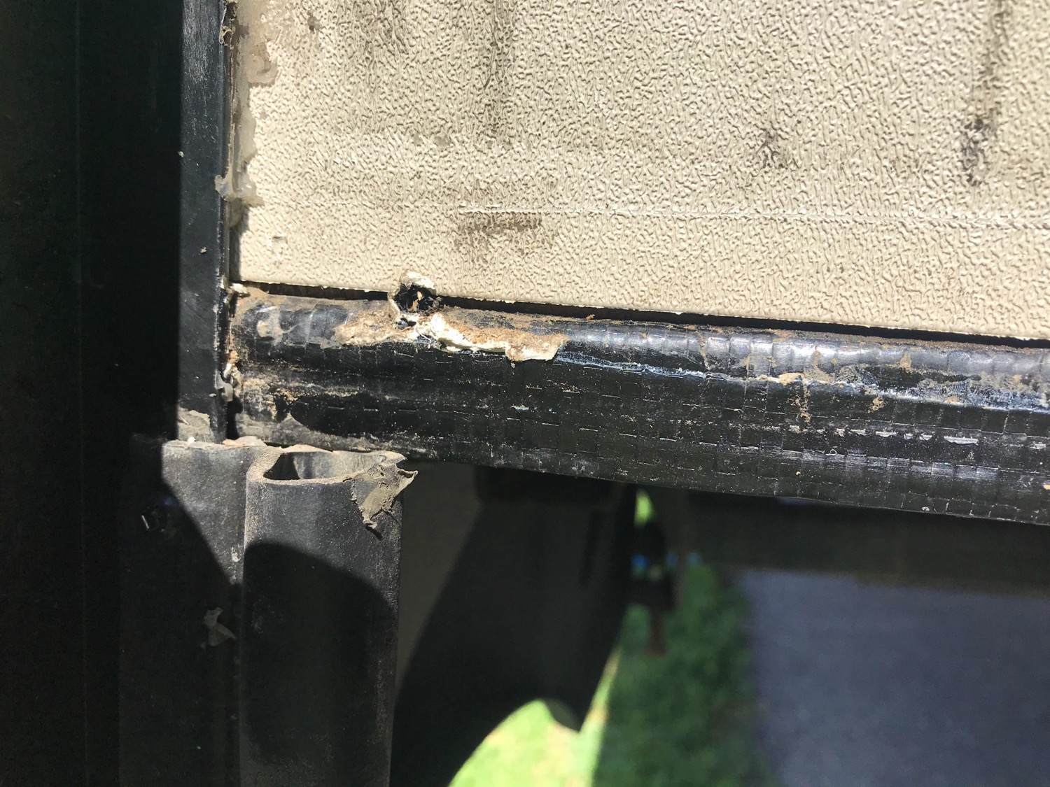 Found the problem - As usual and as everyone we run into with an RV says 'The build quality is not good on these.' I replaced all the buttl tape and resealed all the edges on the whole slide out.