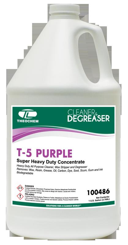 T-5 Purple, Cleaner, Degreaser
