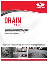Drain Care Brochure