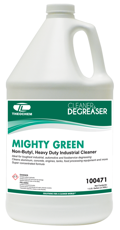 Mighty Green, Cleaner, Degreaser