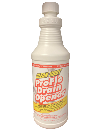Clean Shot ProFlo Drain Opener, Industrial Strength