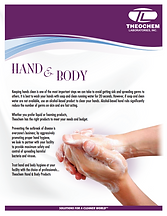 Hand & Body Brochure