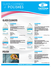 Glas Cleaners Brochure