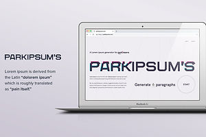 Parkipsum's Is More Than Just A Placeholder. It's A Lifesaver.