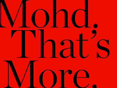 Mohd Is For Design Lovers, Movers, Shakers, And You