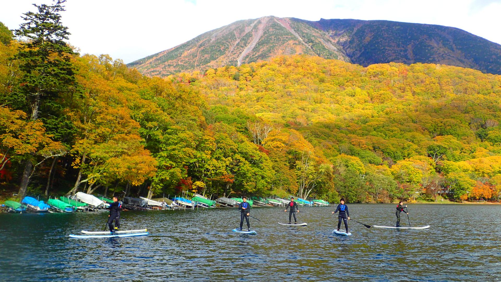 Lake Tyuzenji in Autumn