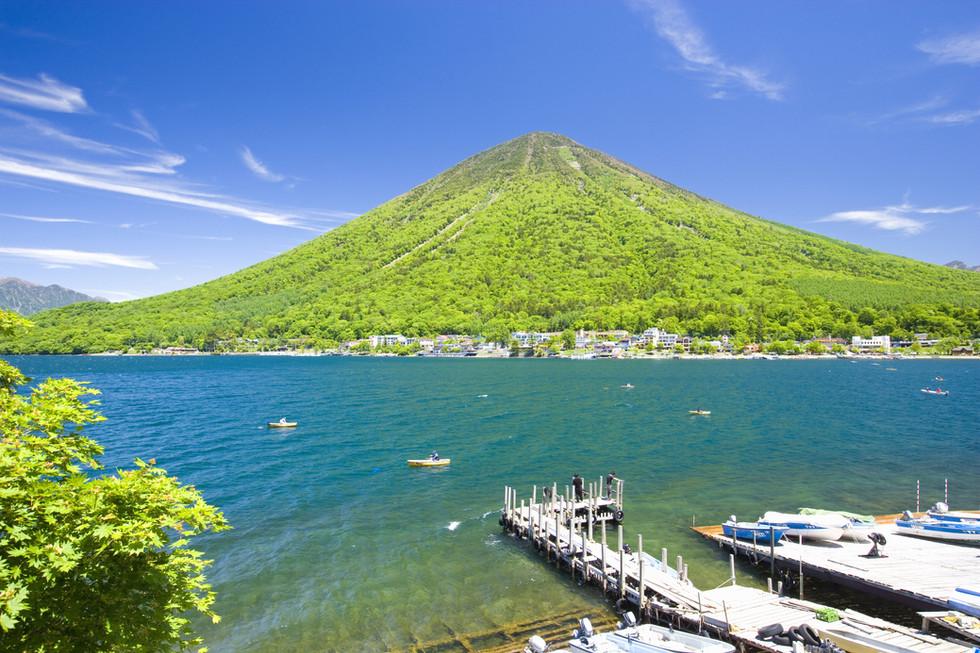 Lake Chuzenji in the summer