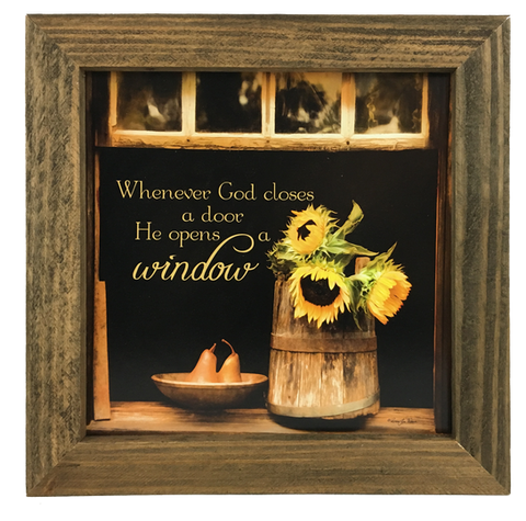 God Opens Windows
