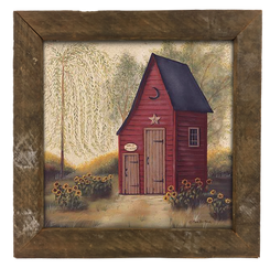 Folk Art Outhouse
