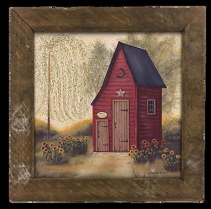 Folk Art Outhouse