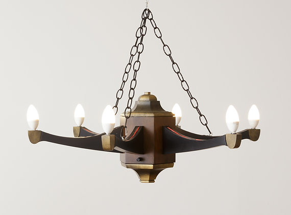 Legacy style chandelier