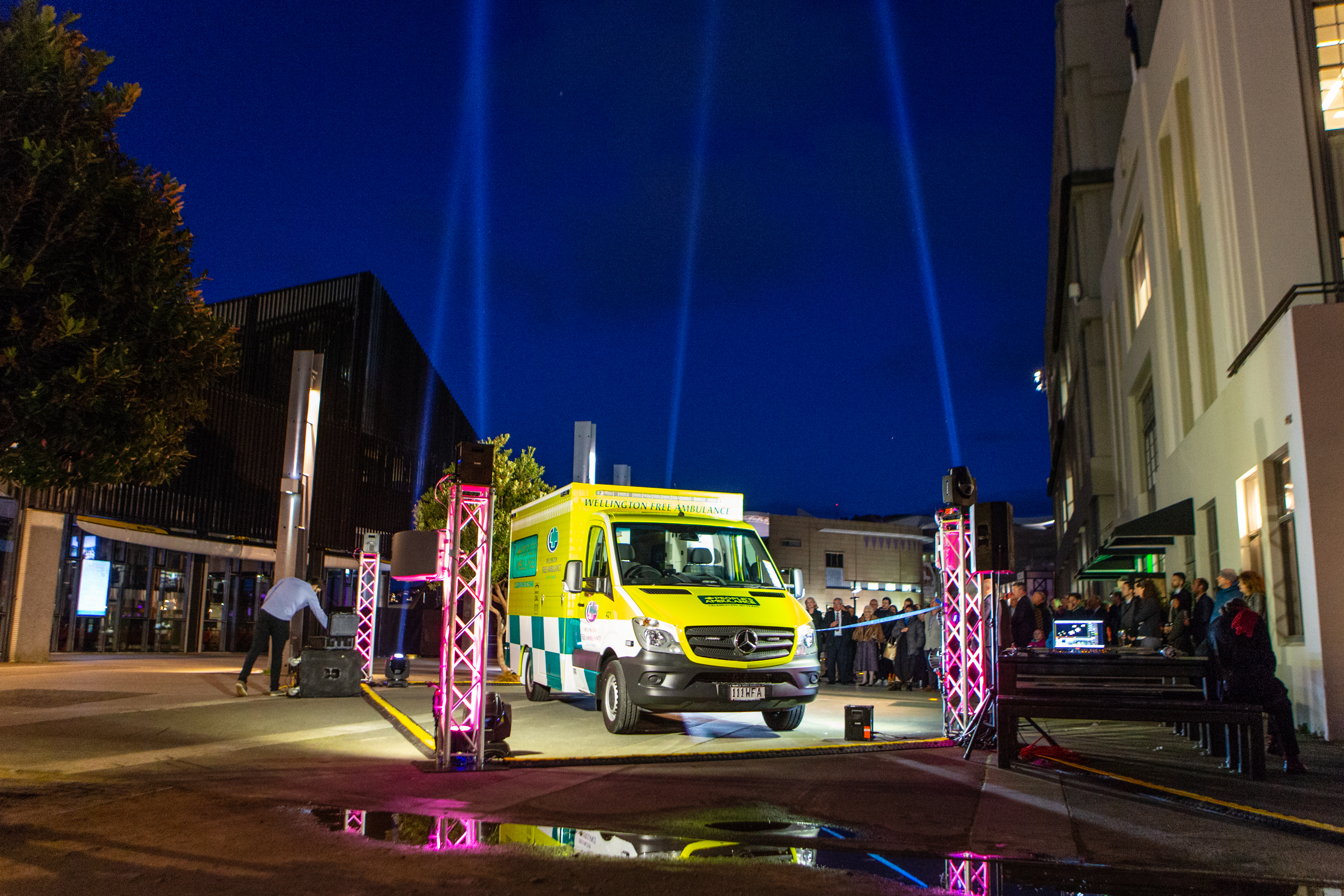 Wellington Free Ambulance Event 26