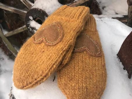 Varme votter - varme hender