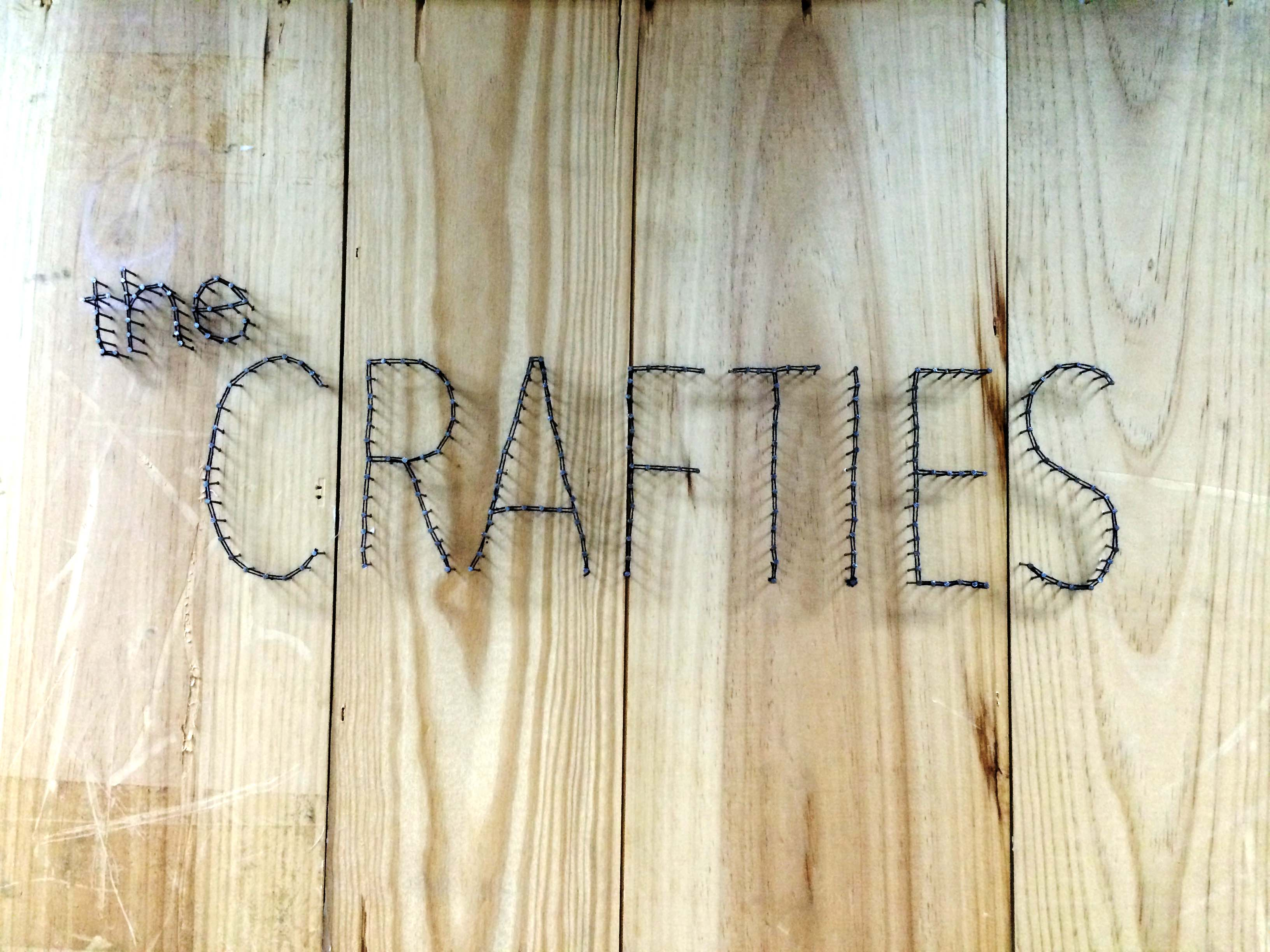 Mar 26th 2014: Retail at Crafties