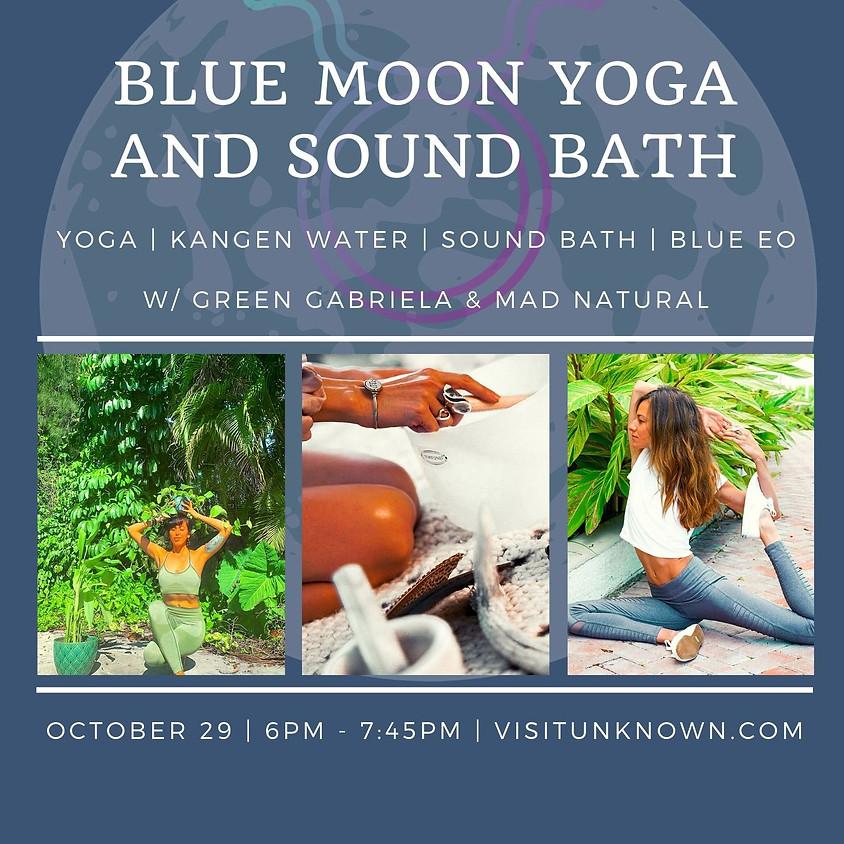 Blue Moon Yoga and Sound Bath