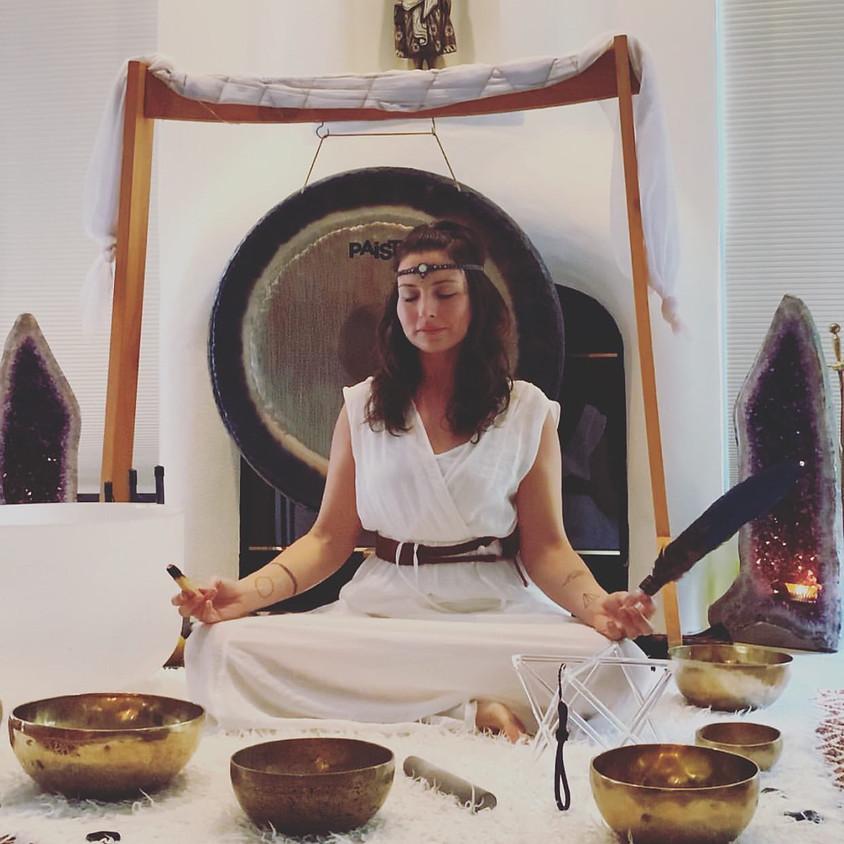 Divine Vibrations Sound Bath + Cacao