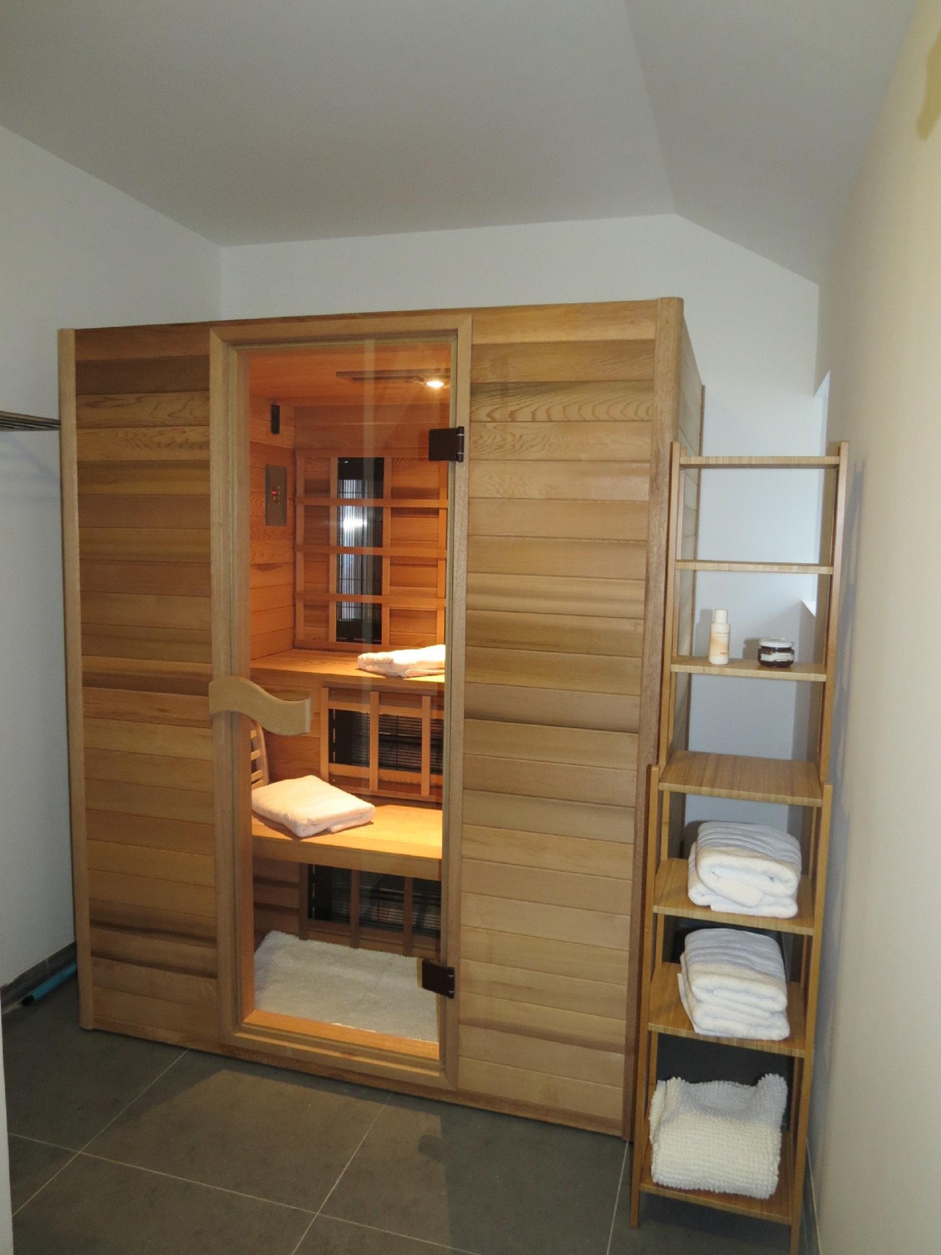 Gîte du Châtelet sauna