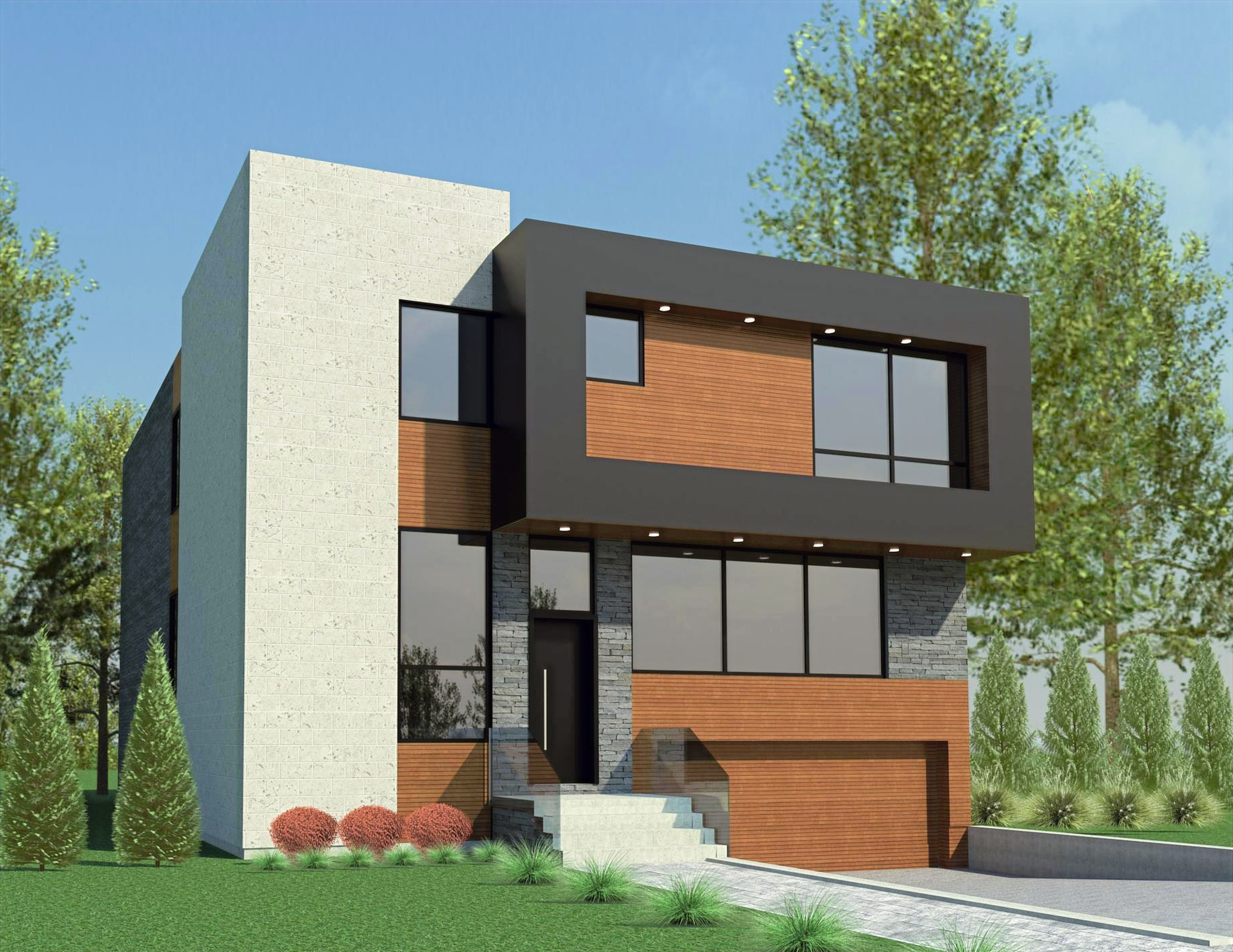 The Contemporary House 4500 Sq Ft