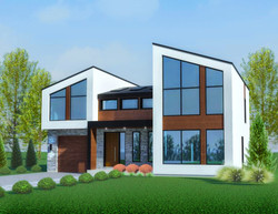 The Contemporary House 3107 Sq Ft