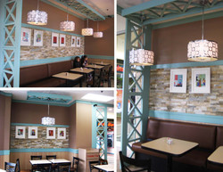 The Interior Design of The East Grill Restaurant